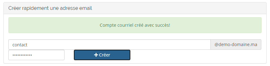 Compte Email Pro