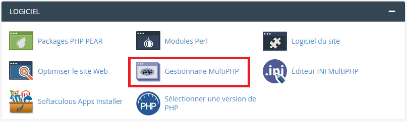 Gestionnaire MultiPHP