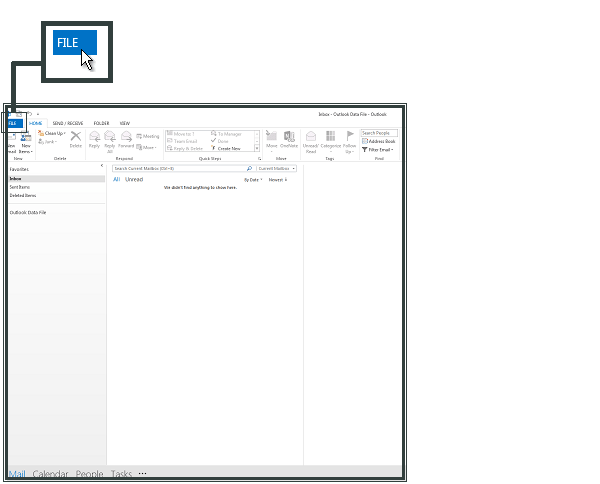 Fichier Microsoft Outlook 2013