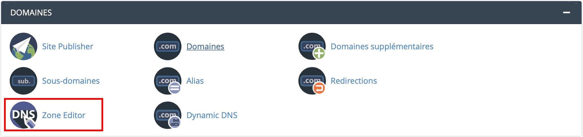 Configurer nom de domaine sur Google Workspace sur cPanel